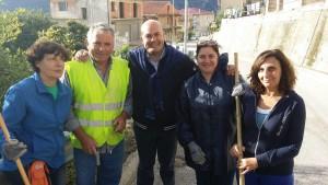 Servizio Antincendio di Castronovo a lavoro per la pulizia delle strade del territorio comunale