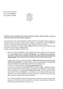 """APERTE LE ISCRIZIONI PER LE ELEZIONI DEL NUOVO PRESIDENTE DELLA CONSULTA DEI GIOVANI """"DANIELE GENTILE"""""""