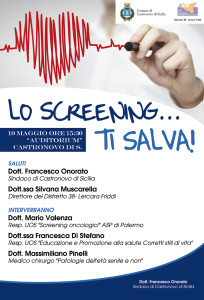 LO SCREENING… TI SALVA!