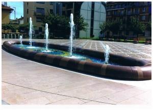 Nuova fontana di Piazza Pettiti