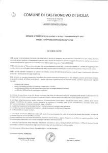 AVVISO: SERVIZIO DI TRASPORTO IN FAVORE DI SOGGETTI DIVERSAMENTE ABILI
