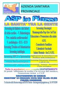 """31 MAGGIO 2016 """"ASP IN PIAZZA """""""
