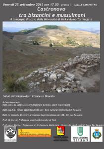 Castronovo: tra Bizantini e Mussulmani