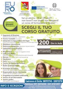 Corsi Grauiti Garanzia Giovani CASTRONOVO (1)