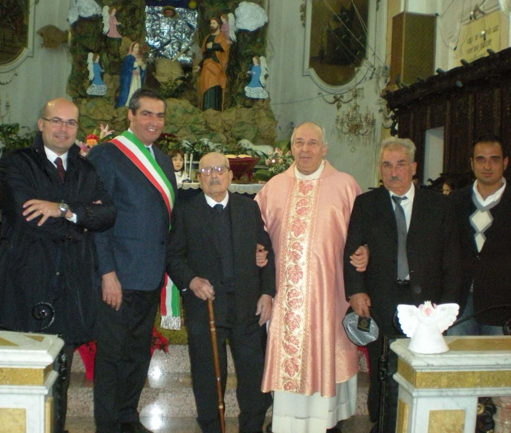 Auguri a nonno Nino Miceli Soletta: cento anni!