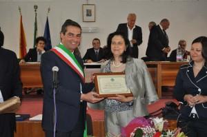 La professoressa Vincenza Greco è cittadina onoraria di Castronovo