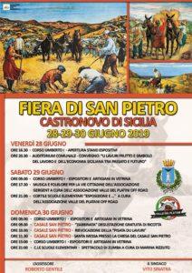FIERA DI SAN PIETRO 2019