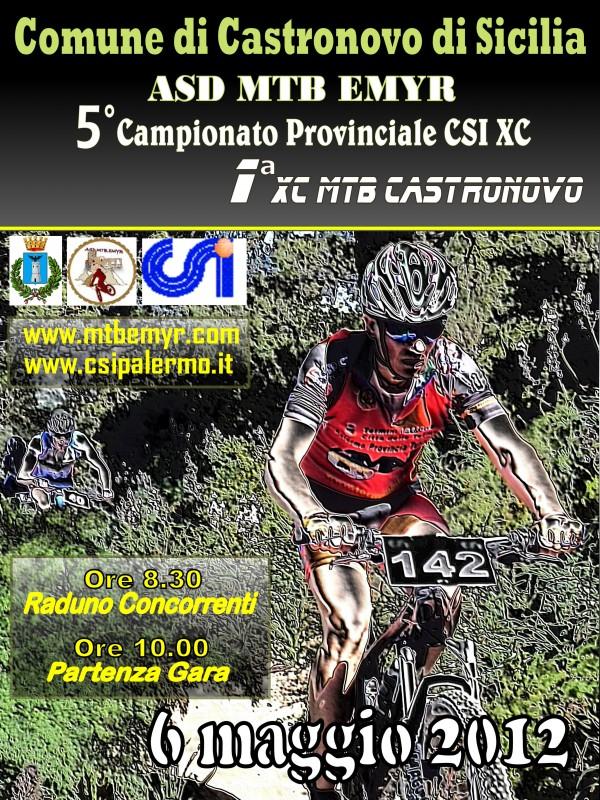 Gara di mountain bike il 6 maggio