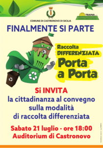 FINALMENTE PARTE LA RACCOLTA DIFFERENZIATA!