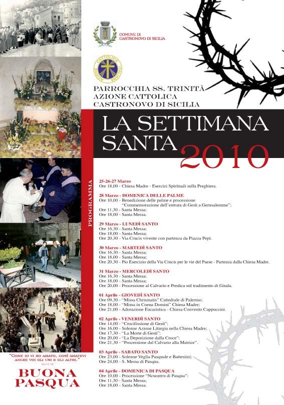 La Settimana Santa tra riti e tradizioni a Castronovo di Sicilia