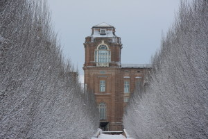 Reggia di Venaria, Inverno con scorcio Torre Alfieri - Mortara Roberto