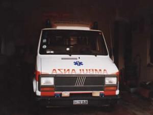 Servizio di ambulanza in paese