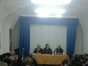 Momenti dell'incontro dibattito sulla figura di Fra Vitale Lino
