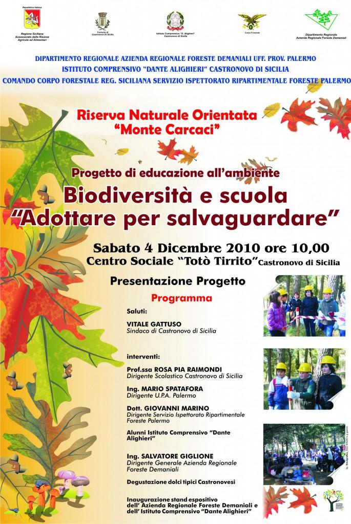"""""""Biodiversità e scuola, adottare per salvaguardare"""""""