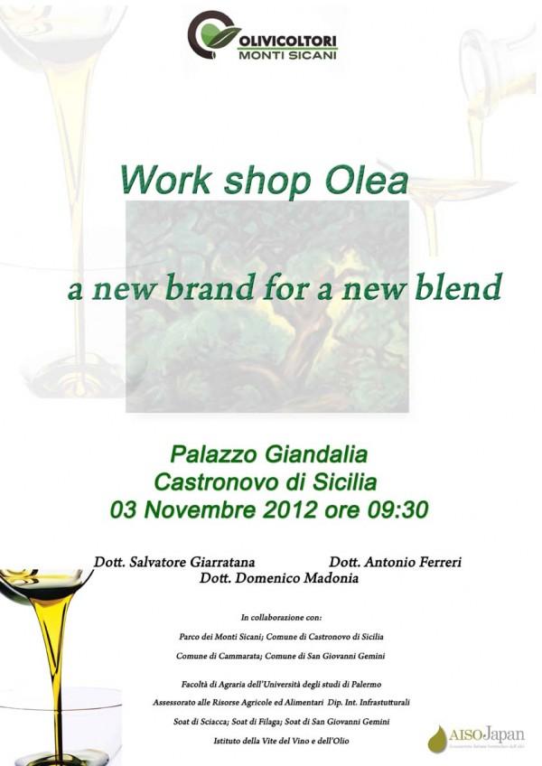 Workshop sull'olio
